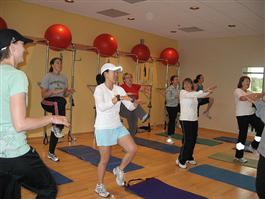 Group Exercises Promote Proper Body Posture and Maintain a Physically Fit Figure