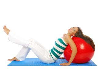 Great Exercises with a Stability Ball