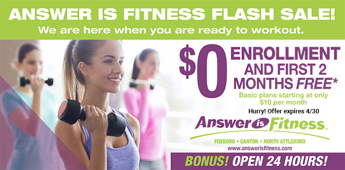Answer is Fitnesss - April Flash Sale!
