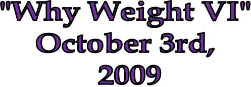 Why Weight VI Weight Loss Challenge