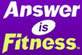 Answer is Fitness logo