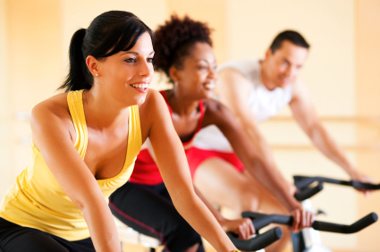 Answer is Fitness spinning cycling classes in North Attleboro, MA