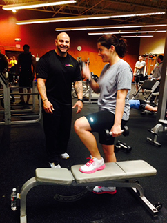 Answer is Fitness - Certified Personal Trainer in Canton, MA