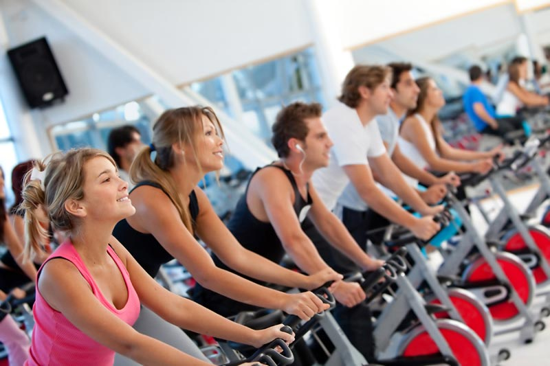 Answer is Fitness - spinning cycling classes in Foxboro, MA