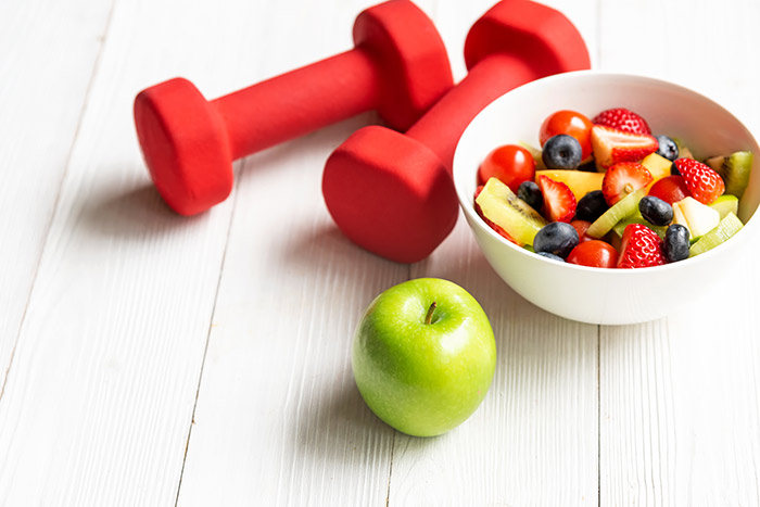 Answer is Fitness - Exercise and Healthy Diet