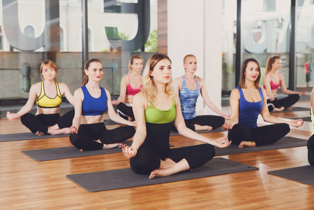 Answer is Fitness - Yoga classes in Canton, MA