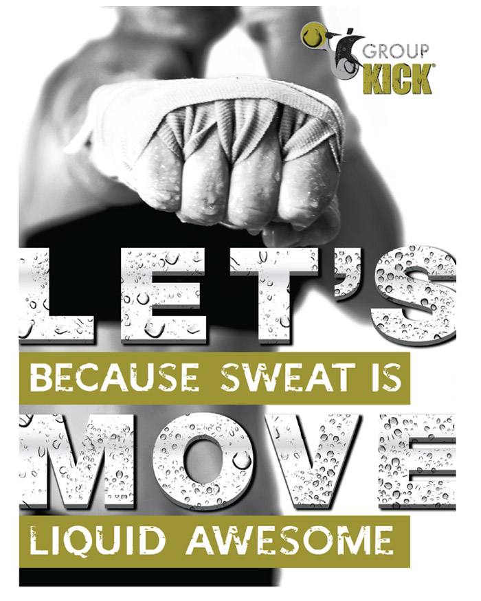 Group Kick is a Full-Body Aerobics Exercise that Blasts Fat Fast and Sculpts Stronger Muscles