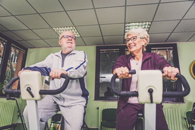 Answer is Fitness - Senior Indoor Cycling in Canton, MA