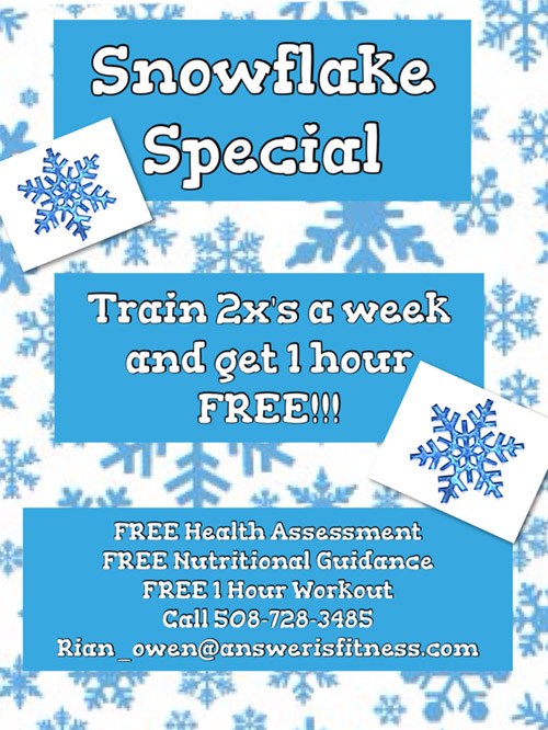Snowflake Special - Answer is Fitness