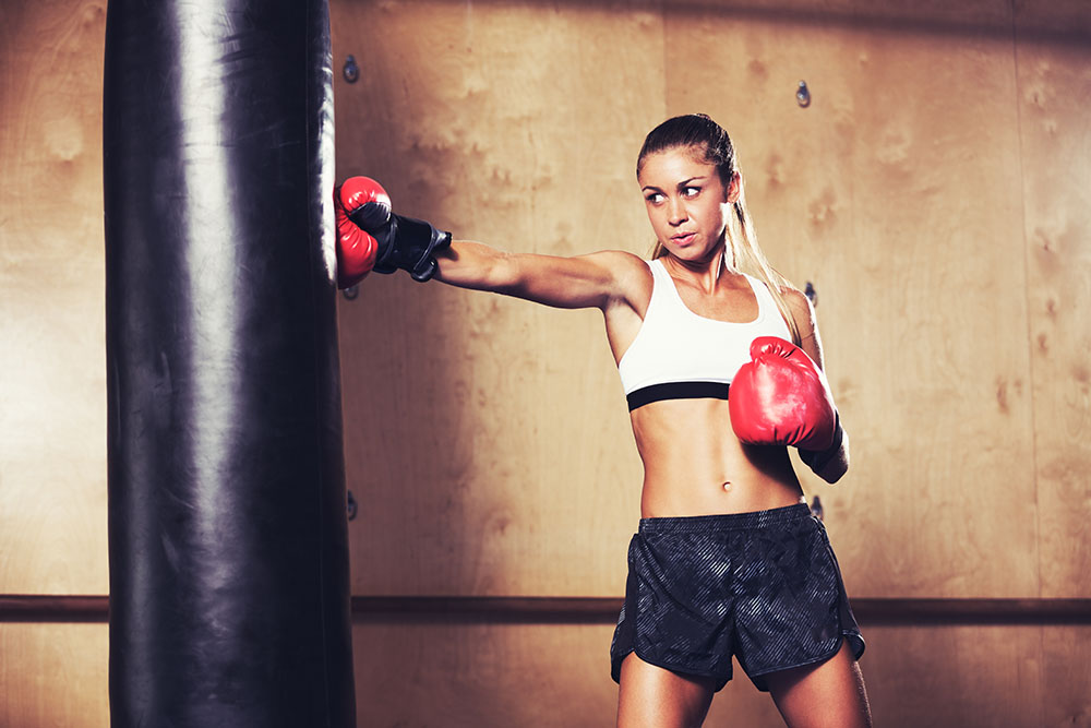 Answer is Fitness - Regular Kickboxing Sessions Benefit Both Mind and Body