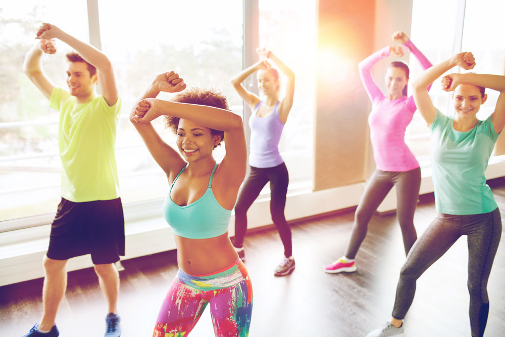 Answer is Fitness - Zumba Exercise in Canton, MA
