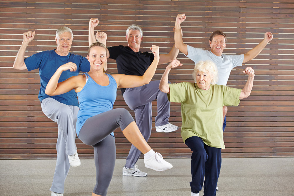 Answer is Fitness - Zumba fitness Seniors fitness program in Canton, MA